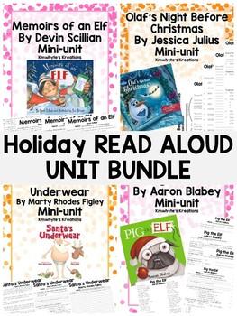Christmas Read Aloud Unit Bundle