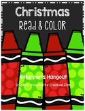 Christmas Read and Color Reading Comprehension
