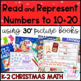 Christmas Math: Read and Represent Numbers