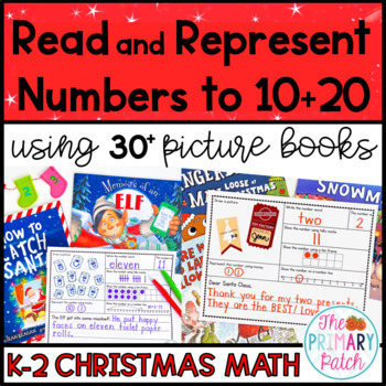 Christmas: Read and Represent Numbers Using Picture Books