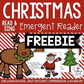 Christmas Emergent Reader Freebie