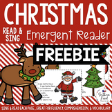 Christmas Shared Reading Read & Sing Early Reader Freebie