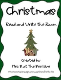 Christmas Read and Write the Room