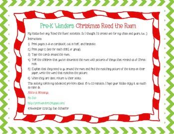 Christmas Read the Room