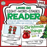 Christmas PreEmergent Sight Word Reader and Activities!