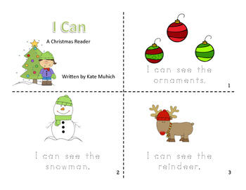 Christmas Reader: I Can
