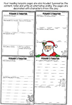 Christmas Reader's Theater - Differentiated roles, reading response