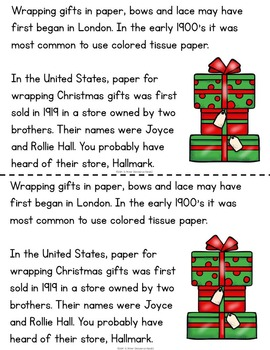 Christmas Printable Books for Guided Reading