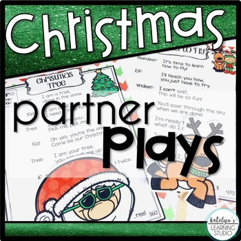 Christmas Readers Theater Partner Plays Poems for Grade 1, 2, and 3