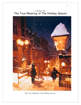 Holidays -  Reader's Theatre Play