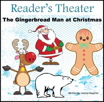 Christmas Play.Christmas Play Readers Theater The Gingerbread Man