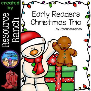 Christmas Printable Early Readers Set
