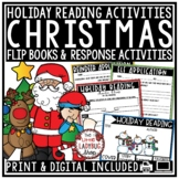 Christmas Reading Activities [Legend of The Poinsettia, Auntie Claus & Rudolph]