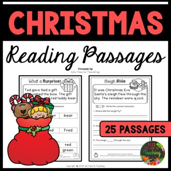 Christmas Reading Comprehension Passages and Questions (Christmas SET 2)