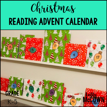 Christmas Reading Advent Calendar FREEBIE