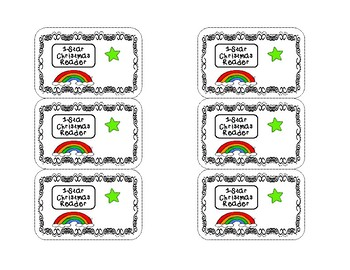 Christmas Reward Badges