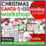 Christmas Reading Classroom Transformation