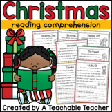 Christmas Activities: Christmas Reading Passages and Questions