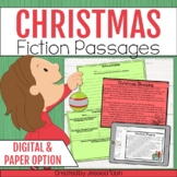 Christmas Activities Reading Comprehension- Distance Learning Google Classroom