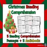 Christmas Reading Comprehension: December Reading Comprehension: 5 AUDIOBOOKS