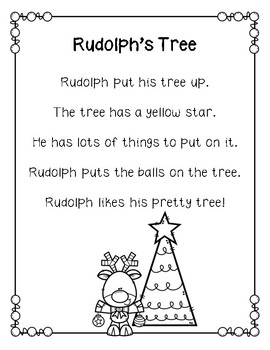 Christmas Reading Comprehension First Grade