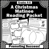Print and Go Christmas Reading Comprehension Passages and Activities