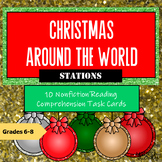Christmas Reading Comprehension Task Cards