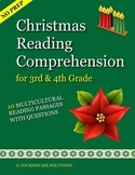 Christmas Reading Comprehension for 3rd & 4th Grade