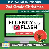 Christmas Reading Fluency in a Flash 2nd Grade • Digital F