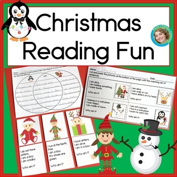 Christmas Reading Fun Literacy Center
