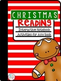 Christmas Reading Interactive Notebook for ANY Book