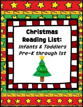 Christmas Reading Lists