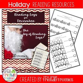 Christmas Reading Logs