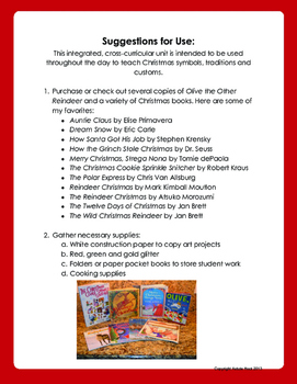 Christmas Reading & Math Activities FREE