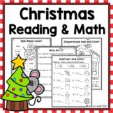 Christmas Reading & Math Worksheets and Games!