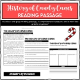 Christmas Reading Passage - History of Candy Canes