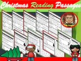 Christmas Reading Comprehension Passages 1st Grade | December
