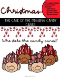 Christmas Reading Passages The Case of The Missing Candy Canes!