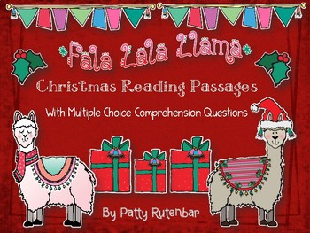Christmas Reading Passages With Multiple Choice Questions