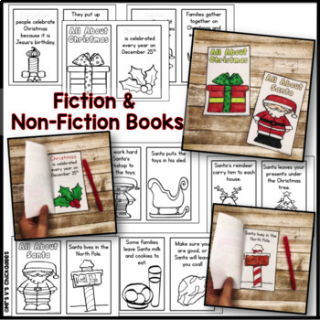 Christmas Reading, Phonics & Math Work