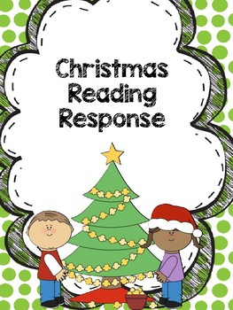 Christmas Reading Response