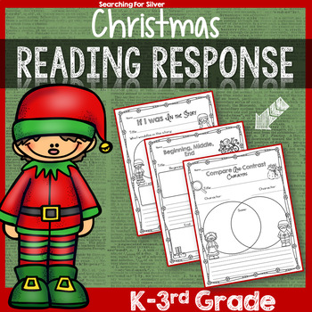 Christmas Reading Response Pages