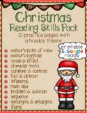 Christmas Reading Skills Pack