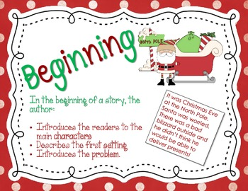Christmas Reading Skills: Story Structure