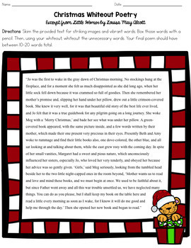 Christmas Reading & Writing Bundle for Middle School