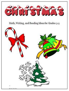 Christmas Reading Writing Math Ideas and Activities