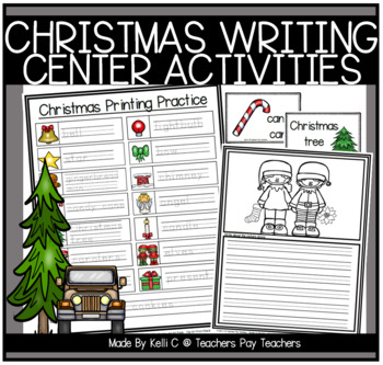 Christmas Writing Center - Reading, Writing & Vocabulary for Primary Grades