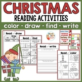 Christmas - Reading activities