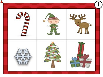Christmas Reading and Math Centers