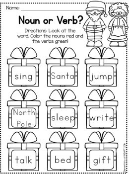 Christmas Reading and Math Worksheets (Kindergarten and ...